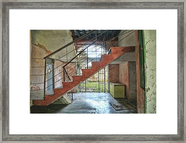 Stairway To Havana Framed Print