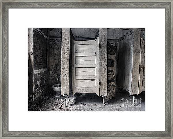 Stalled II Framed Print