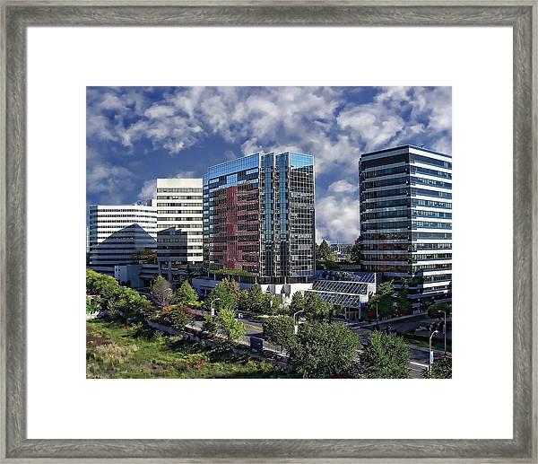 Stamford City Center Framed Print
