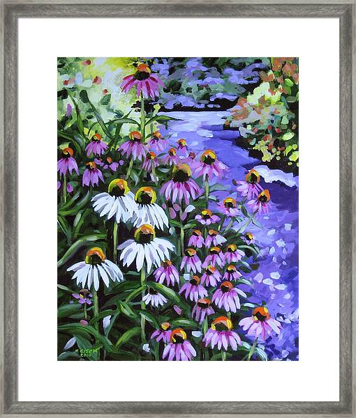 Stand Out In A Crowd Framed Print