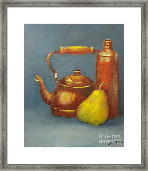 Framed Print featuring the painting Standing Tall by Genevieve Brown