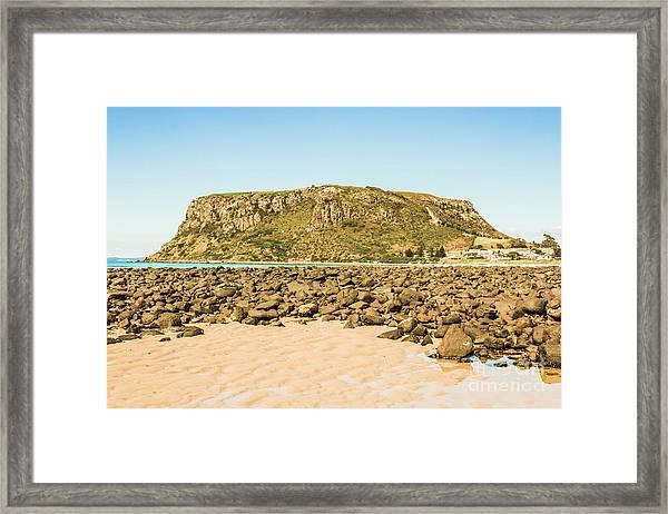 Stanley Seascape Framed Print