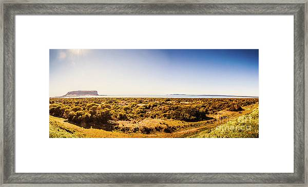 Stanley Wide Country Framed Print