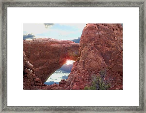 Star Arch Framed Print