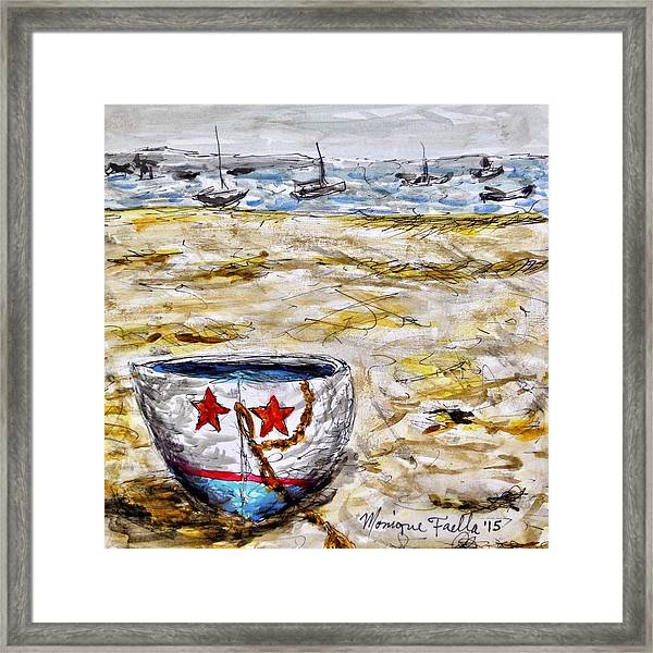 Star Boat Framed Print