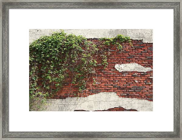 Framed Print featuring the photograph Star Bricks by Dylan Punke