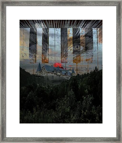 Star Castle Framed Print