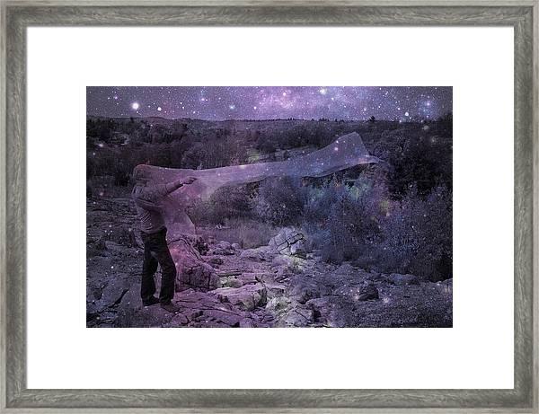 Star Catcher Framed Print