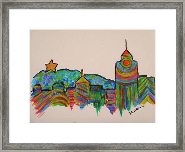 Star City Play Framed Print