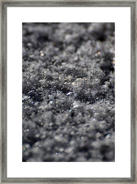 Star Crystal Framed Print