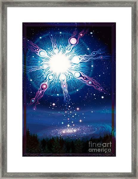 Star Matrix Framed Print