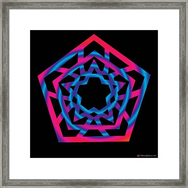 Star Of Enlightenment Framed Print