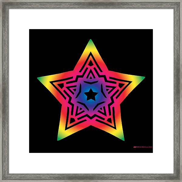 Star Of Gratitude Framed Print