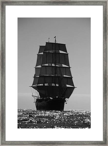 Star Of India Backlit Framed Print