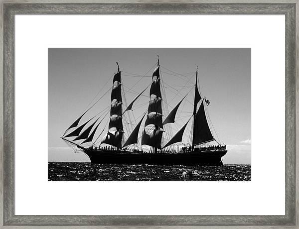 Star Of India Port Side Framed Print