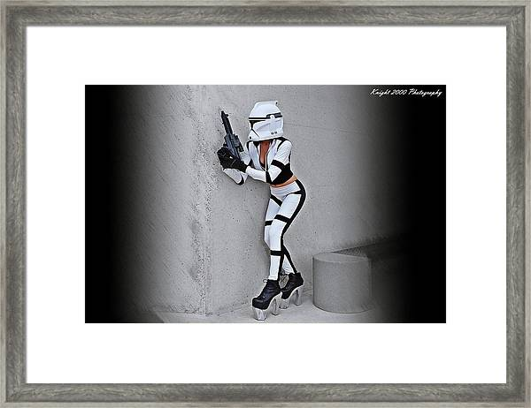 Star Wars By Knight 2000 Photography - Armor Framed Print