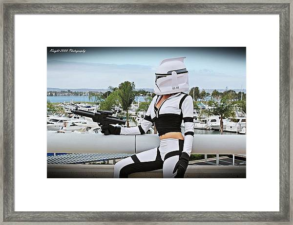 Star Wars By Knight 2000 Photography - Clone Wars Framed Print