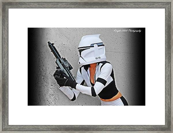 Star Wars By Knight 2000 Photography - Waiting Framed Print