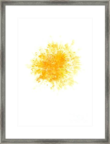 Star Watercolor Art Print Painting Framed Print