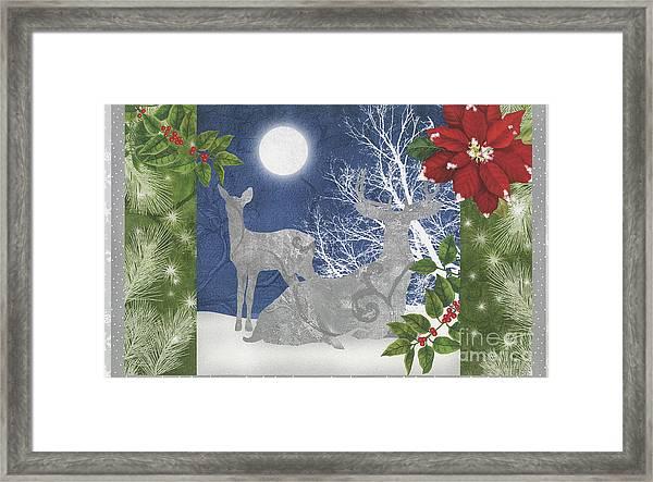 Starlight Christmas Ix Framed Print