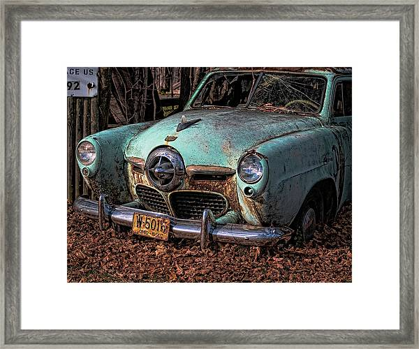 Starlite Coupe Framed Print