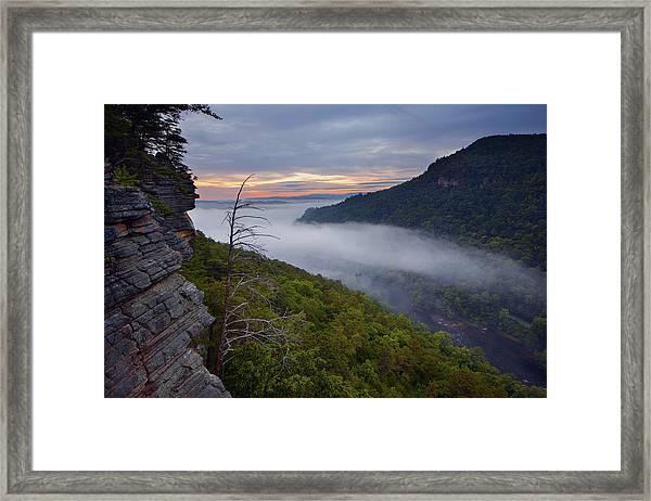 Starr Mountain Sunrise Framed Print