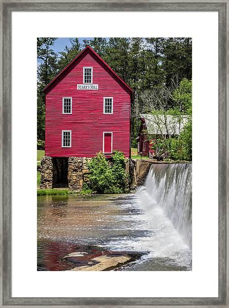Starr's Mill 1 Framed Print