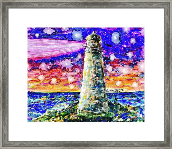 Starry Light Framed Print