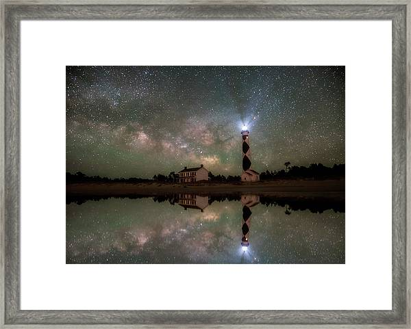 Starry Reflections Framed Print