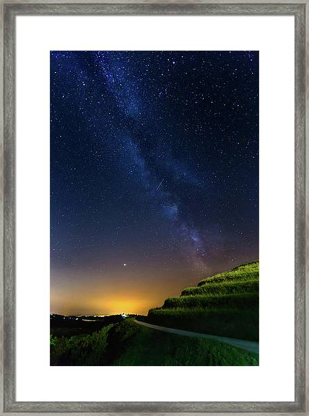 Starry Sky Above Me Framed Print