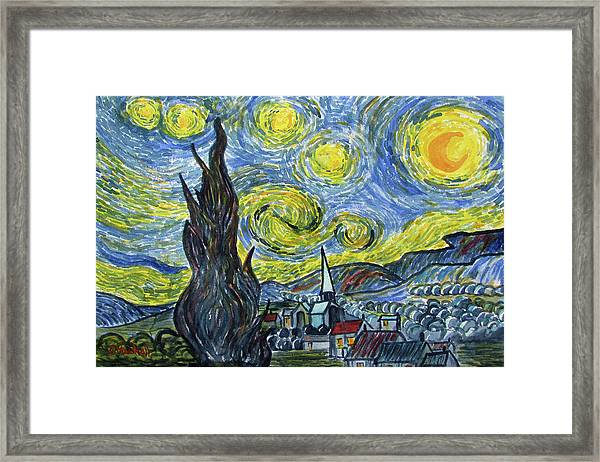 Starry, Starry Night Framed Print