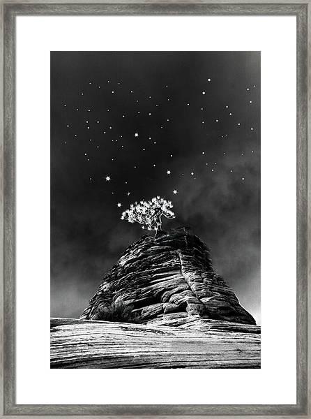 Stars At Night Framed Print