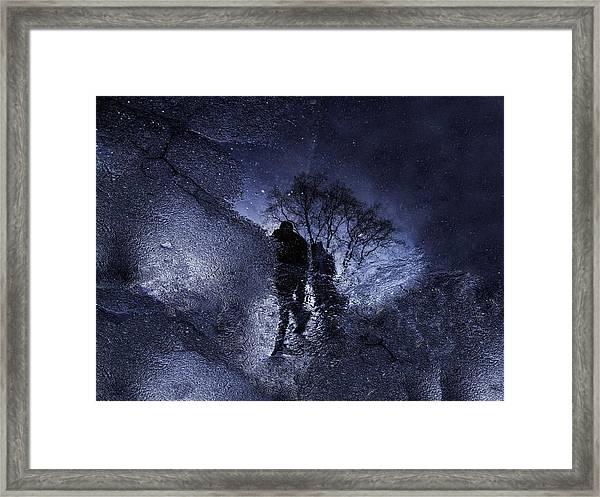 Stars Walking Framed Print