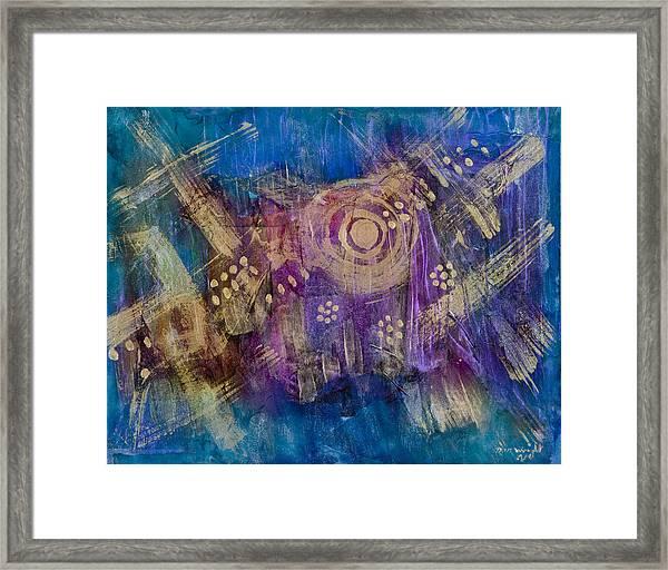 Starship Vortex Framed Print