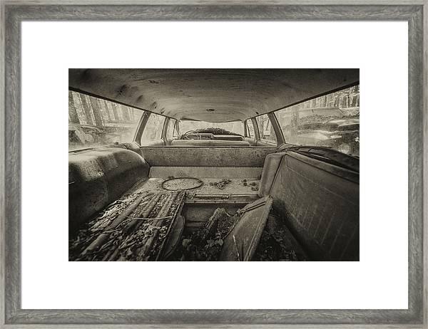 Station Wagon Framed Print