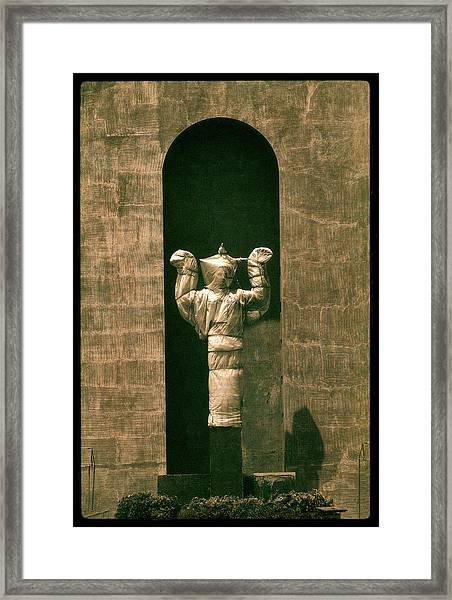 Statues Individual #1 Framed Print