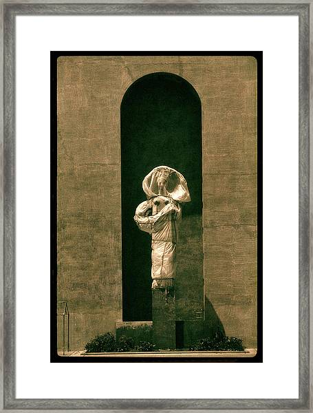 Statues Individual #2 Framed Print
