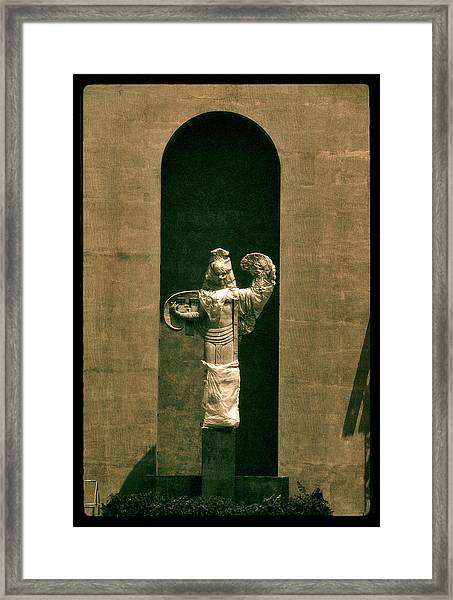 Statues Individual #3 Framed Print