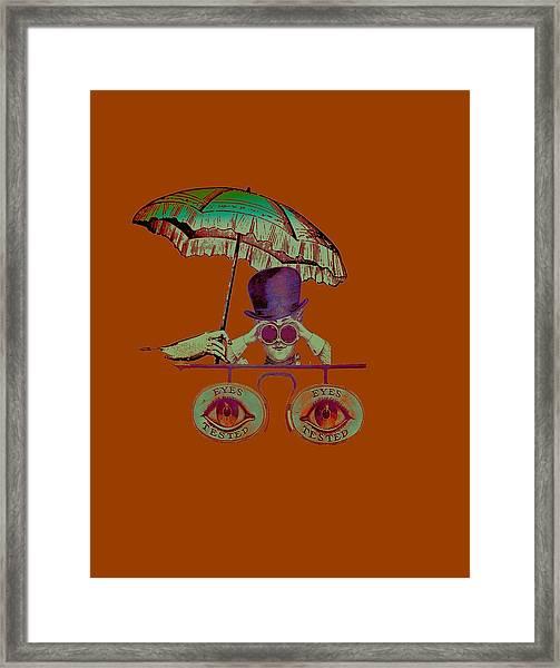 Steampunk T Shirt Design Framed Print