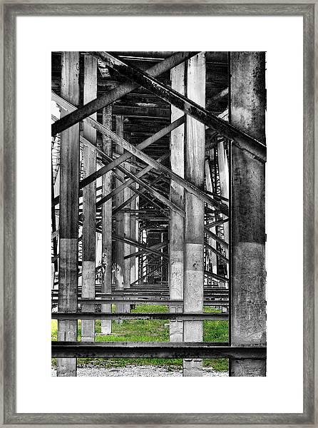 Steel Support Framed Print