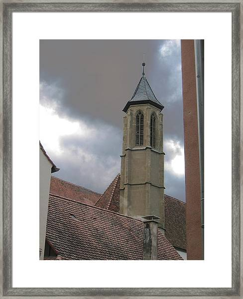 Framed Print featuring the photograph Steeple by Dylan Punke
