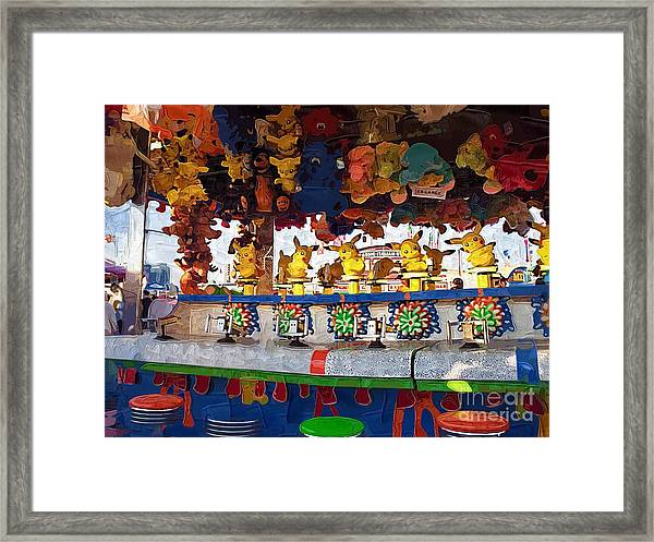 Step Right Up And Win A Prize Framed Print by Deborah Selib-Haig DMacq