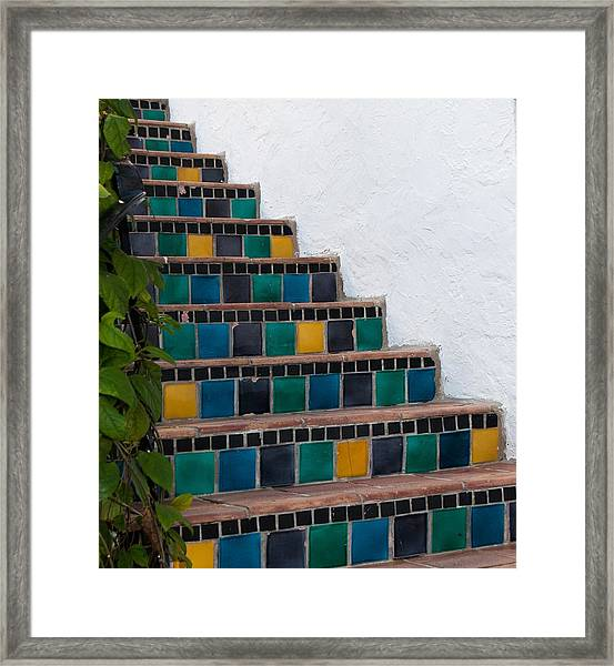Steps Two Framed Print