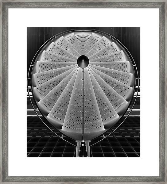 Stepscircle Framed Print