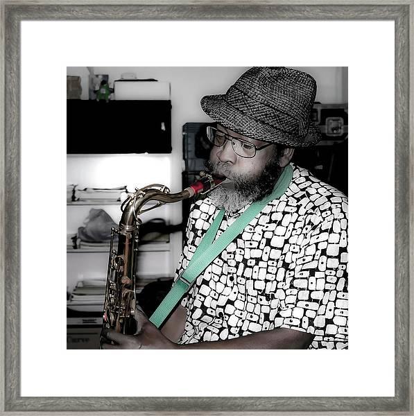 Steve Gundhi Framed Print