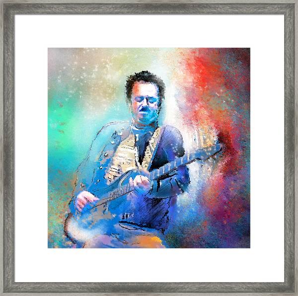 Steve Lukather 01 Framed Print