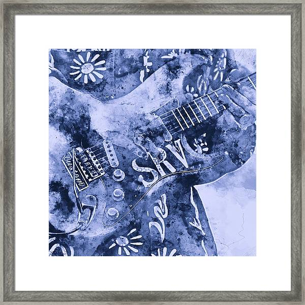 Stevie Ray Vaughan - 04 Framed Print