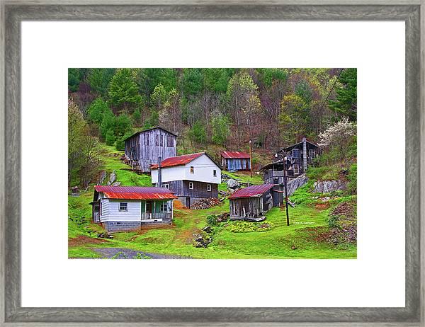 Stike Holler Framed Print