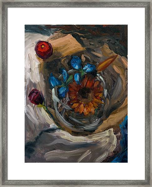 Still Life Abstract Framed Print