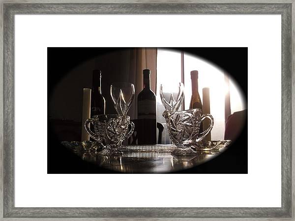Still Life - The Crystal Elegance Experience Framed Print